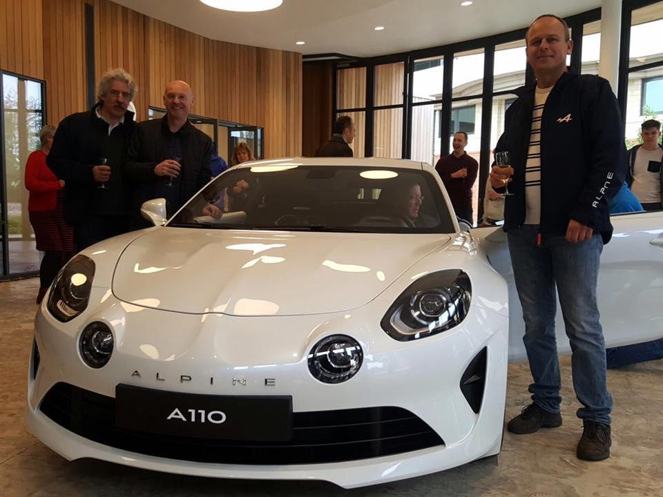 alpine A110 A610 A310 GTA RAOC UK ASAN 2017 29 | L'ASAN invitée à la présentation Anglaise de l'Alpine A110