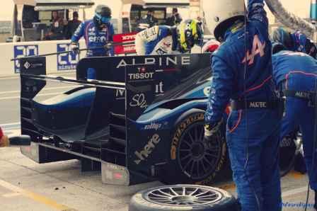 Alpine Planet WEC 24 Heures du Mans 2017 Signatech Alpine Ragues Panciatici Rao Negrao Dumas Menezes coulisses - 60-imp