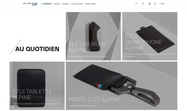 Boutique en ligne Alpine Cars Store Elegance Racing Signatech miniatures sacs bagages vêtements - 13