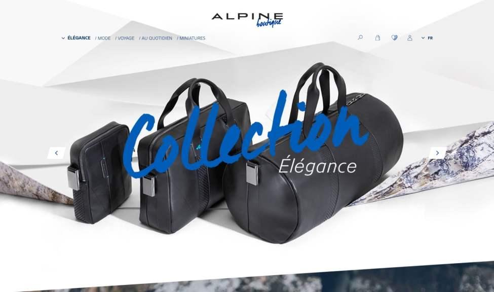 Boutique en ligne Alpine Cars Store Elegance Racing Signatech miniatures sacs bagages vêtements - 4