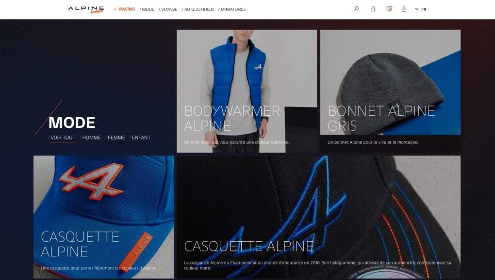 Boutique en ligne Alpine Cars Store Elegance Racing Signatech miniatures sacs bagages vêtements - 6