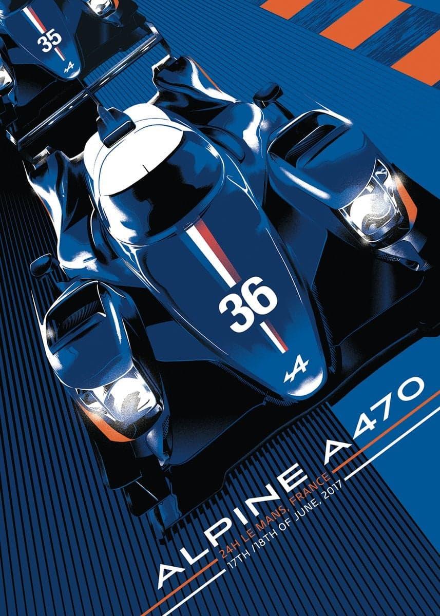 DBUfvM7XcAA1usM   L'Alpine A470 signe un chrono record sur le Circuit des 24 Heures