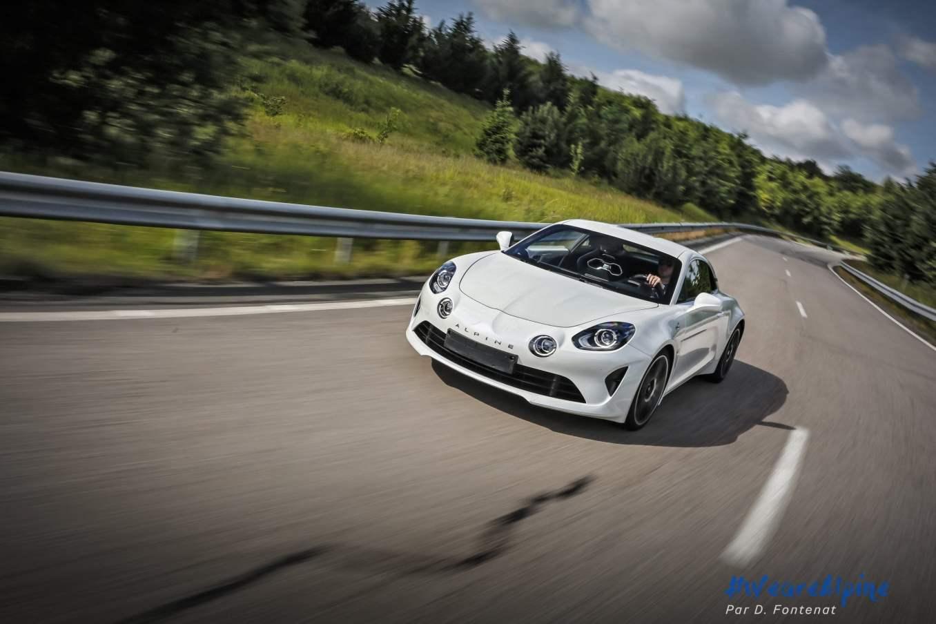 DF18753©D.Fontenat scaled | Essai vidéo de la nouvelle Alpine A110 sur circuit en exclusivité mondiale !