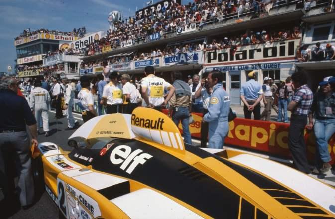 24 Heures du Mans 1978 pironi jabouille depailler jaussaud bell ragnotti frequelin a443 a442b a442a a442 victoire - 10