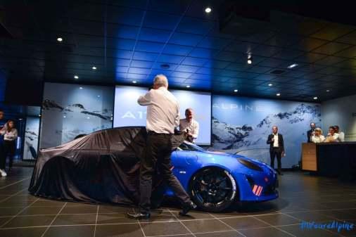Alpine A110 Cup Signatech Studio Boulogne Billancourt GPE Auto 2 - L'Alpine A110 Cup en détail sous l'oeil de GPE Auto !