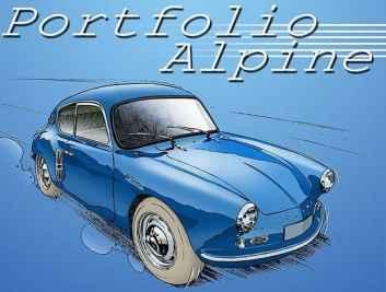 Chris Boyer portfolio Alpine A106 A110 A220 A310 GTA BD Dessin (14)