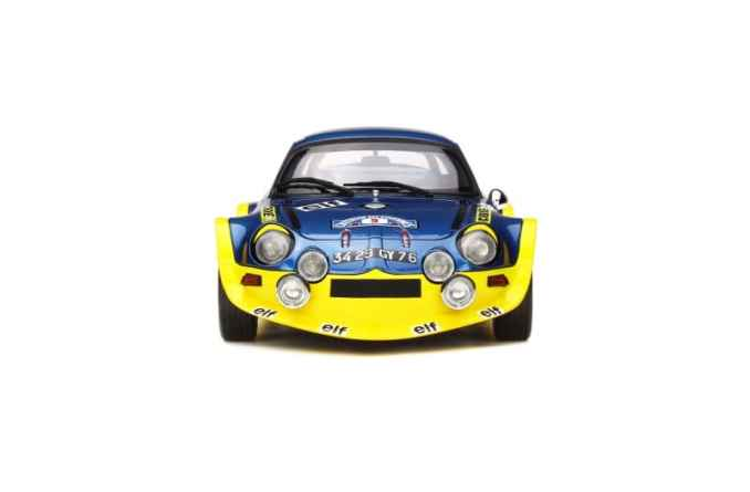 A110 1600 S Turbo OTTO Planet 1:18eme - 3