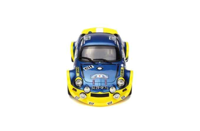 A110 1600 S Turbo OTTO Planet 1:18eme - 7
