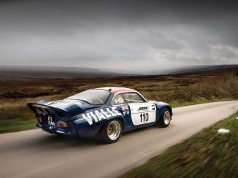 Alpine A110 B Vialle 1974 Rally cross (1)