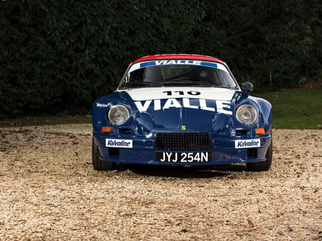 Alpine A110 B Vialle 1974 Rally cross 28   RM Sotheby's met aux enchères trois Alpine pour Paris 2018