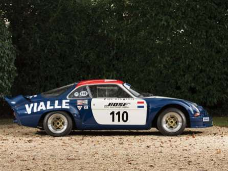 Alpine A110 B Vialle 1974 Rally cross (34)