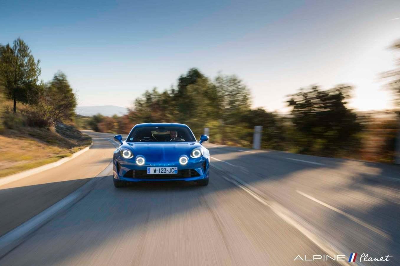 Alpine planet drive A110 1 | Notre essai de la nouvelle Alpine A110 sur route !