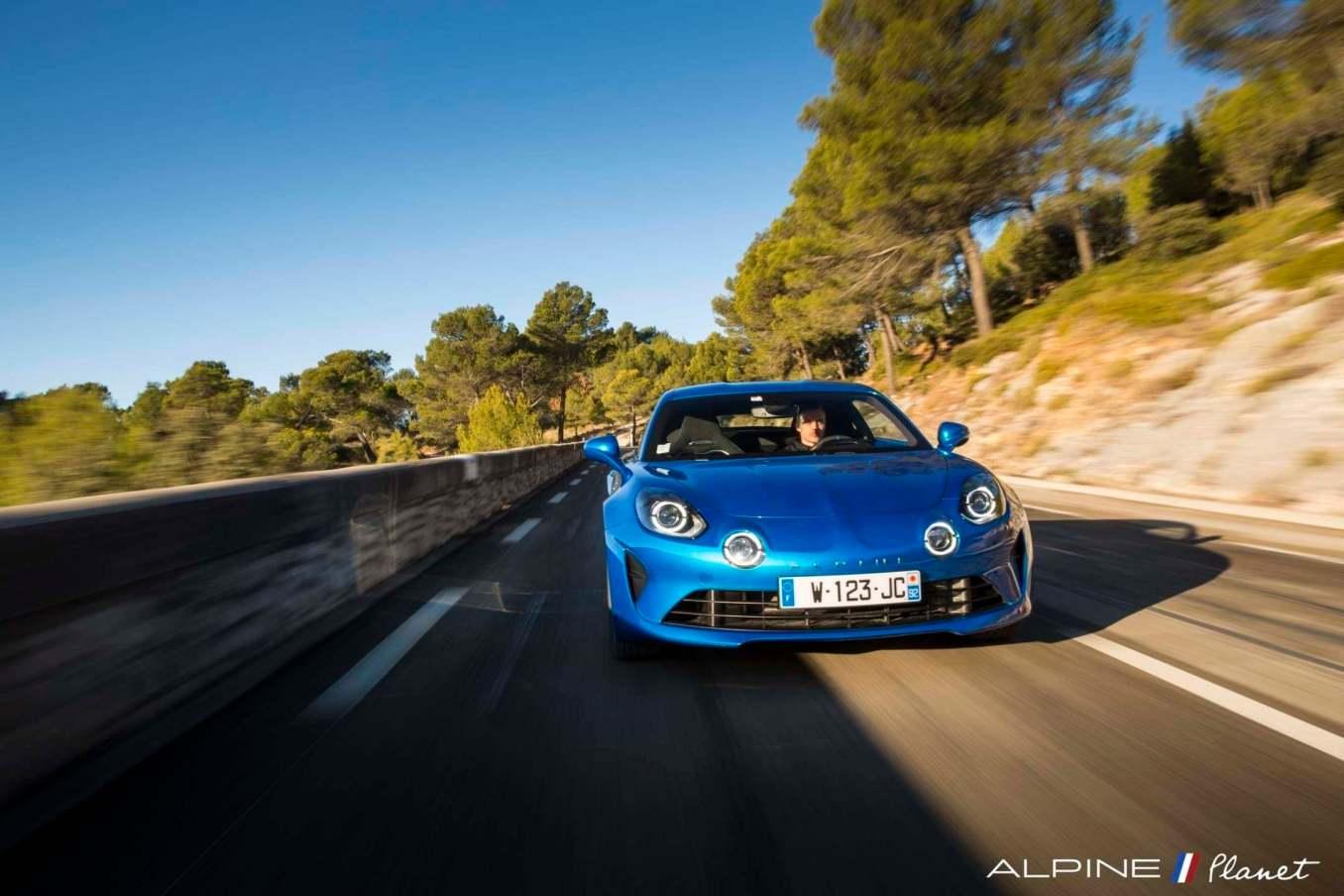 Alpine planet drive A110 2 | Notre essai de la nouvelle Alpine A110 sur route !
