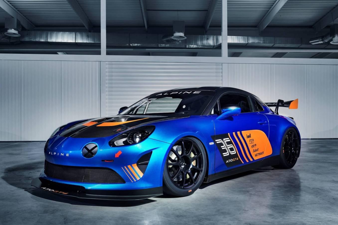 Alpine dévoile son A110 GT4 au Salon de Genève avec Signatech ! 2