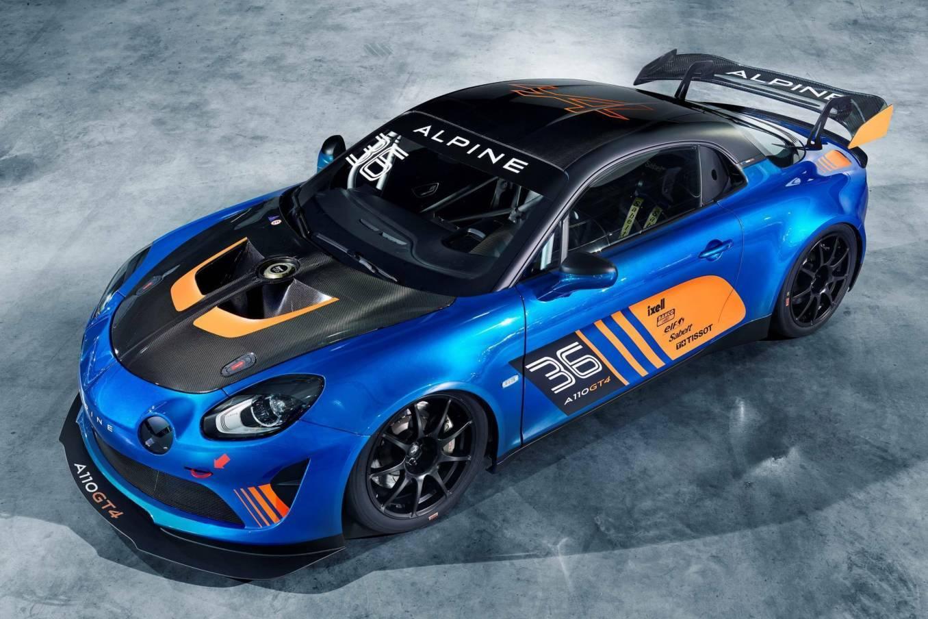 Alpine A110 GT4 Signatech Salon de Genève Racing 2018 2 | Alpine dévoile son A110 GT4 au Salon de Genève avec Signatech !