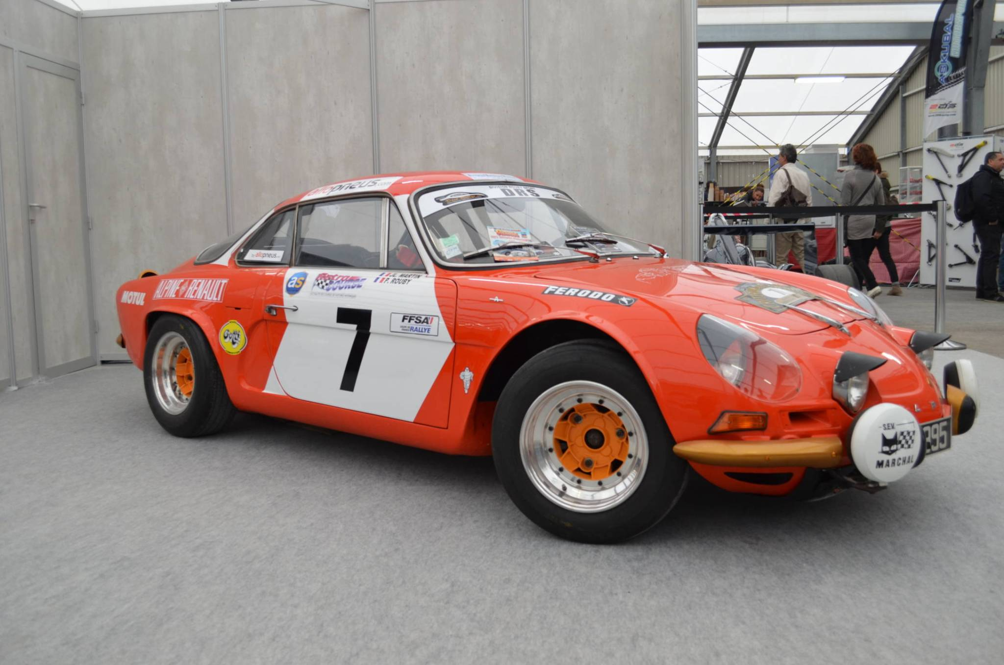 Le plein d'Alpine à la 16ème édition de l'Avignon Motor Festival 2