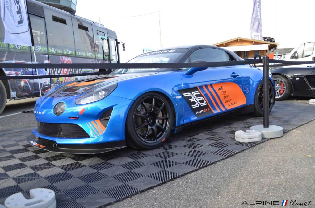 Alpine planet Coupes de Pâques Nogaro A110 GT4 2018 Alexandre Gaillardet 13-imp