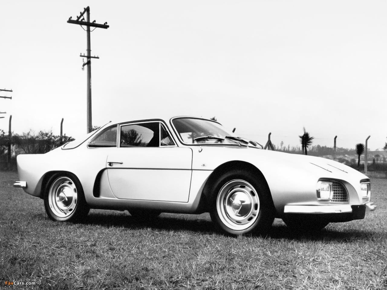 Willys Interlagos II Prototype 1966 5   Overland Interlagos: l'Alpine Made in Brazil !