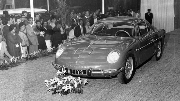 Willys Overland Interlagos 1961 Automovel Salao   Overland Interlagos: l'Alpine Made in Brazil !