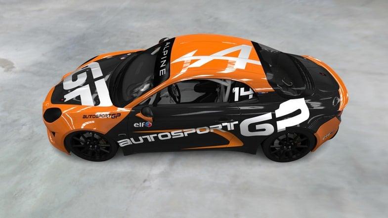 Alpine A110 Europa Elf Cup AutoSport | L'Alpine Elf Europa Cup va débuter dans 20 jours !
