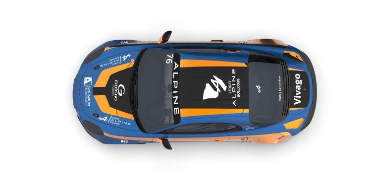 Pierre Sancinéna révèle la livrée de son Alpine A110 CUP