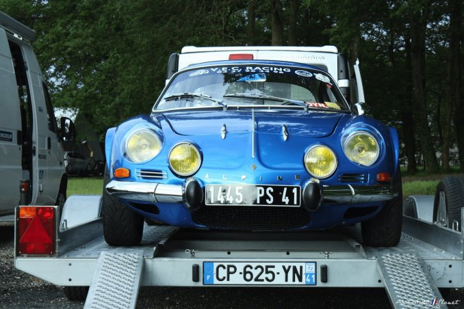 Alpine Planet A110 A310 A442 GT4 Losange Passion International 2016 Monthlery Ragnotti - 29-imp