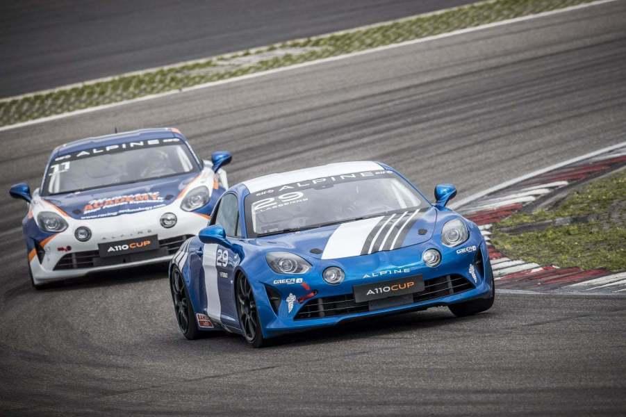 Alpine Elf Europa Cup 2018 Nurburgring CMR Milan Sancinena Beltoise Romano Signatech (44)