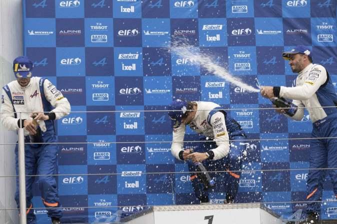 Alpine Elf Europa Cup 2018 Nurburgring CMR Milan Sancinena Beltoise Romano Signatech (75)