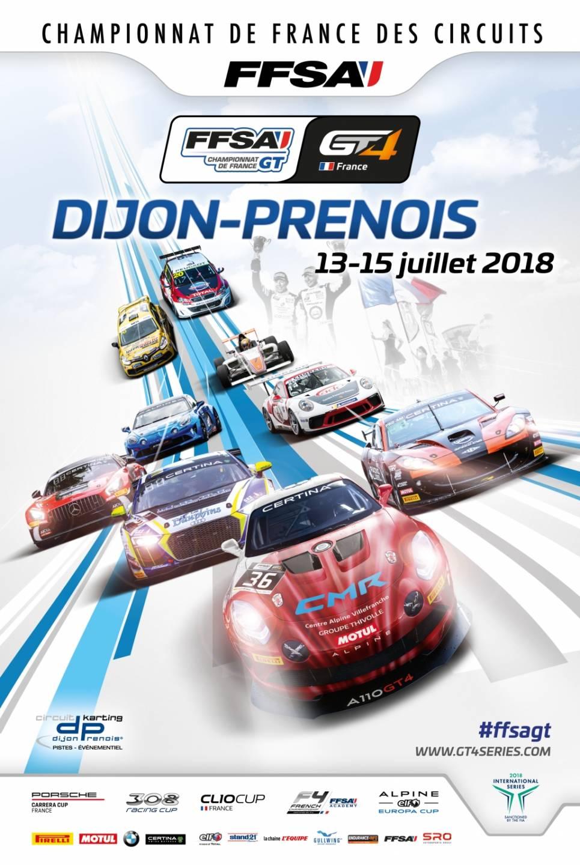 FFSA GT4: deux Alpine A110 GT4 engagées par CMR à Dijon 1