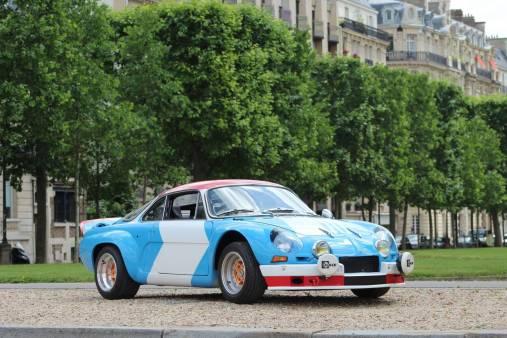 Alpine A110 Gr IV 1800 VB Artcurial Le Mans Classic 2018 9 - Le Mans Classic 2018: rendez-vous en terre connue pour Alpine !