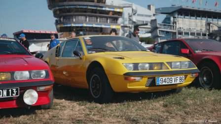 Alpine Planet Le Mans Classic 2018 A110 A310 GTA A610 Cup FCRA FFVE Berlinette Mag - 107-imp