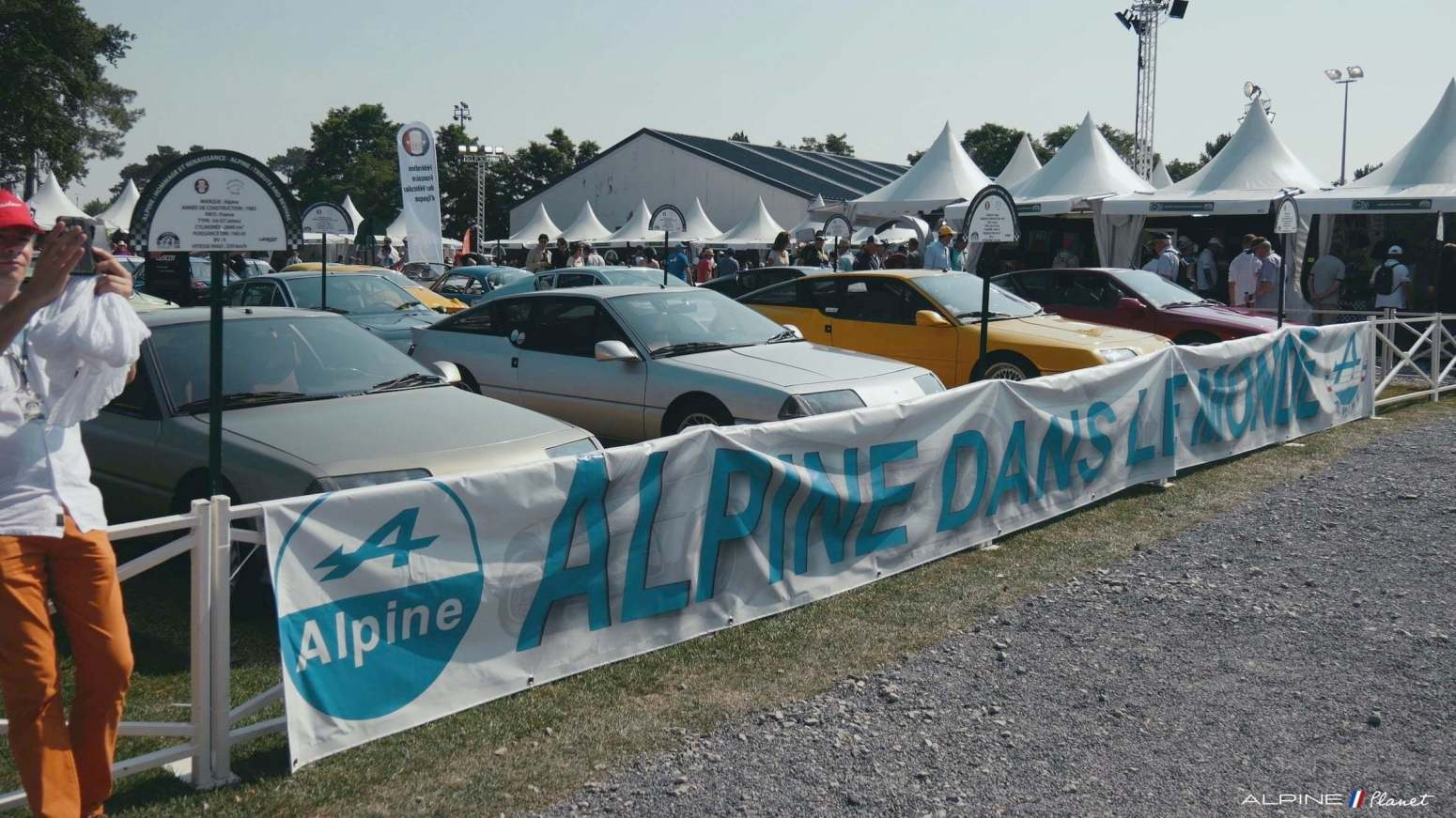 Alpine Planet Le Mans Classic 2018 A110 A310 GTA A610 Cup FCRA FFVE Berlinette Mag 30 imp - Le Mans Classic 2018: rendez-vous en terre connue pour Alpine !