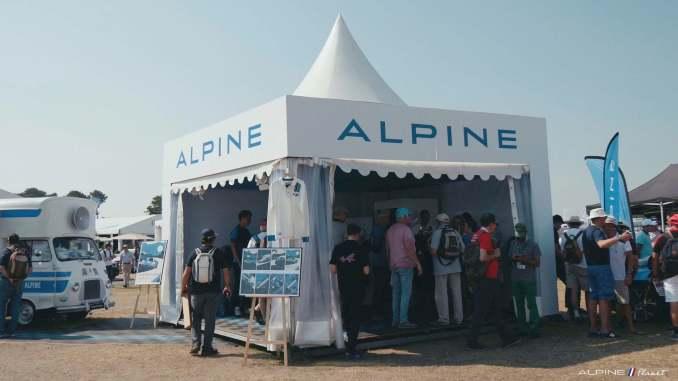 Alpine Planet Le Mans Classic 2018 A110 A310 GTA A610 Cup FCRA FFVE Berlinette Mag 38 imp - Le Mans Classic 2018: rendez-vous en terre connue pour Alpine !
