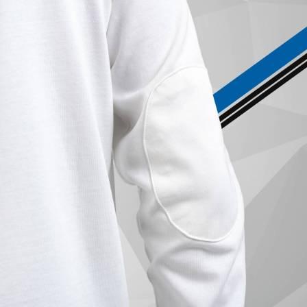 polo homme manches longues blanc 3 Alpine Collection 1978 boutique anniversaire 40 ans 24 heures du mans