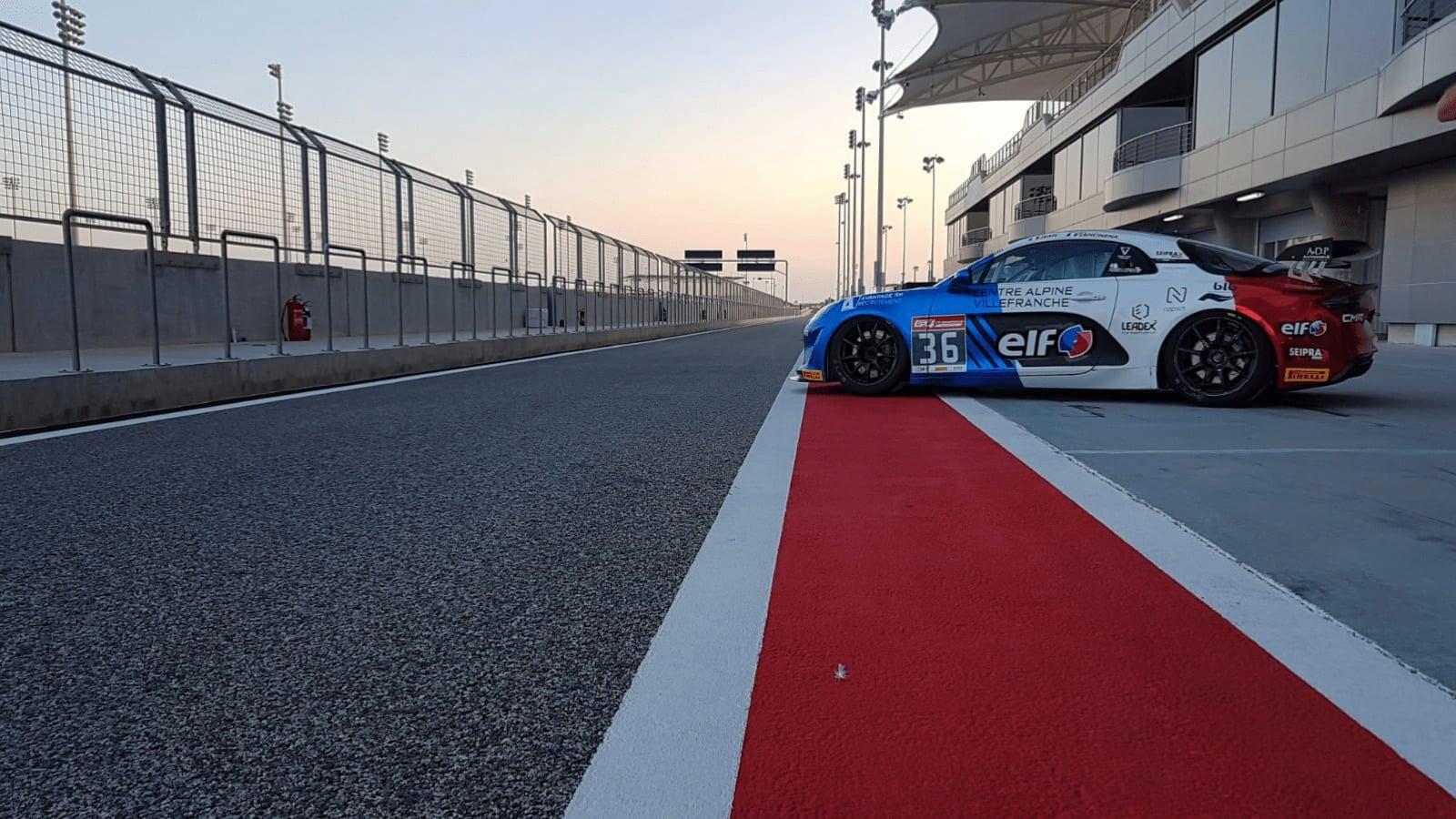 Deux Alpine A110 face au reste du monde à la GT4 International Cup de Bahreïn 1