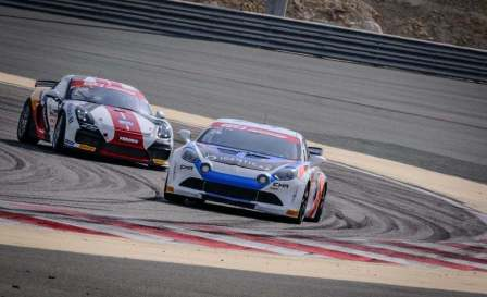 Alpine A110 GT4 International Cup à Bahreïn Sancinena Jean CMR (10)