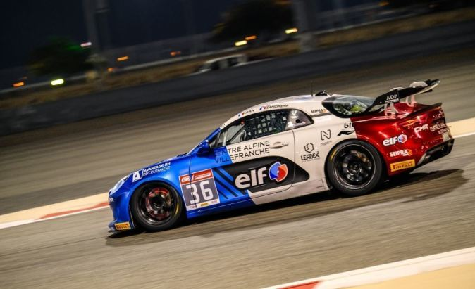 Alpine A110 GT4 International Cup à Bahreïn Sancinena Jean CMR (4)