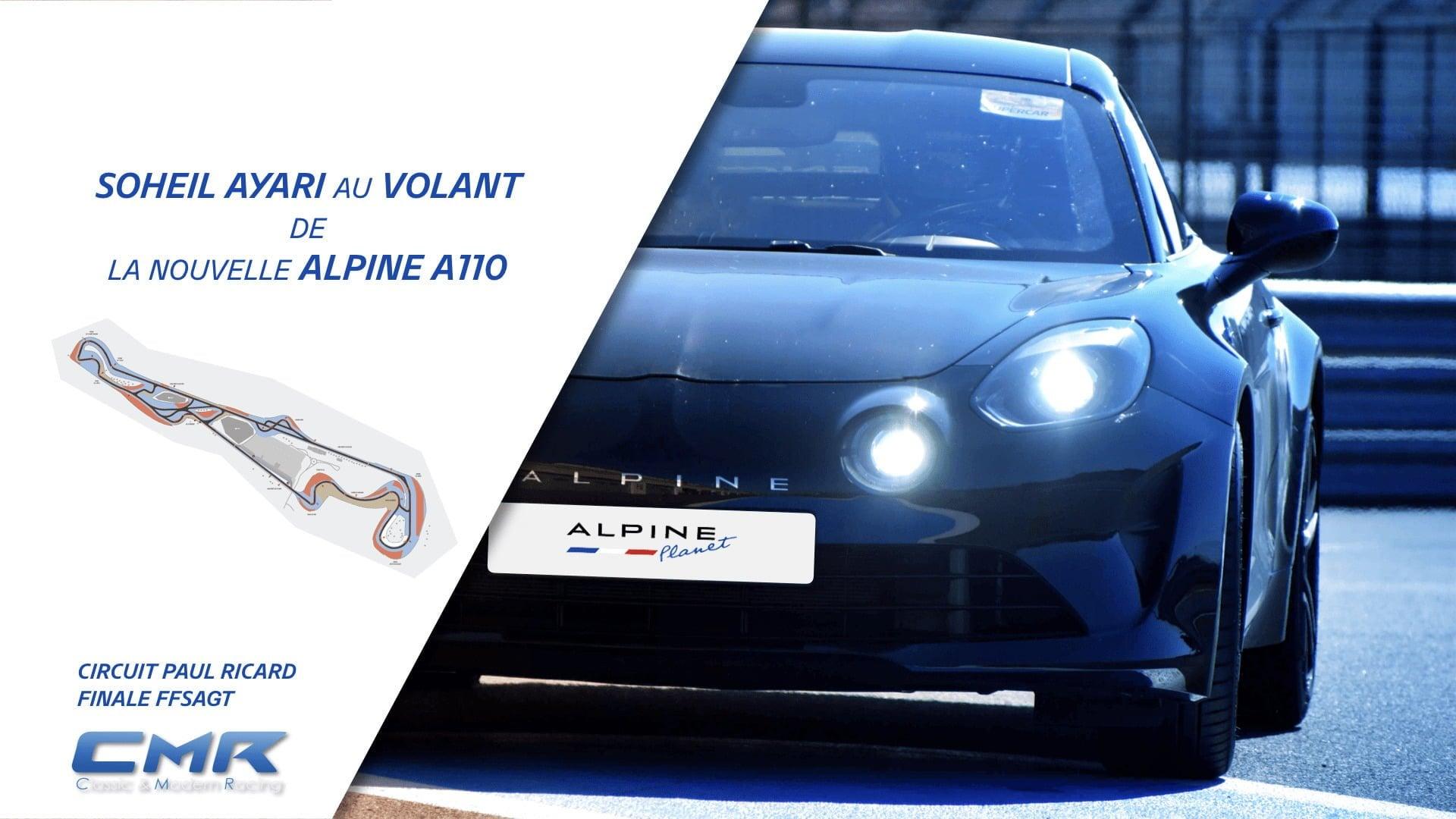 Un tour embarqué en Alpine A110 avec Soheil Ayari sur le circuit du Paul Ricard [4K]