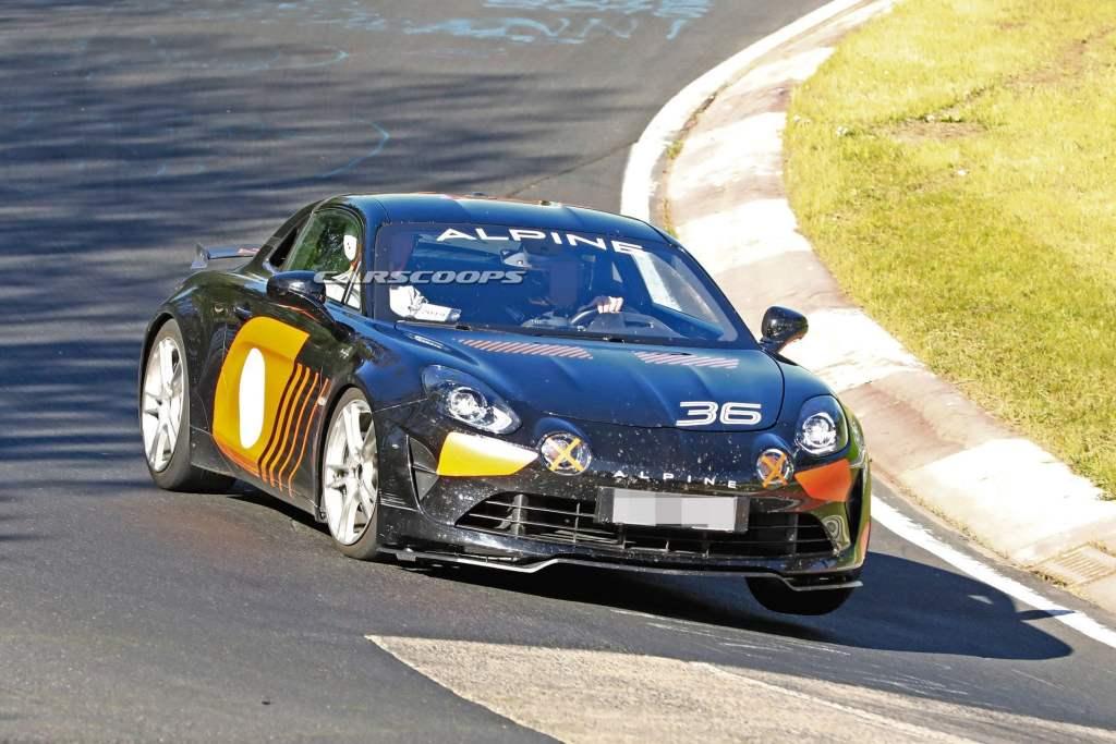 Alpine AS110 A110 S nurbrugring carscoops 1   La nouvelle Alpine AS110 / A110 S, on la tient enfin !