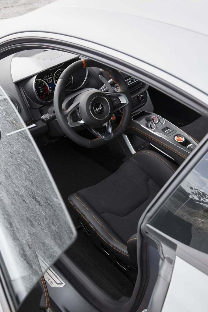 Alpine A110S GT Race 2019 Gris Tonnerre Mat Blanc Solaire 5   Comment précommander l'Alpine A110S ?