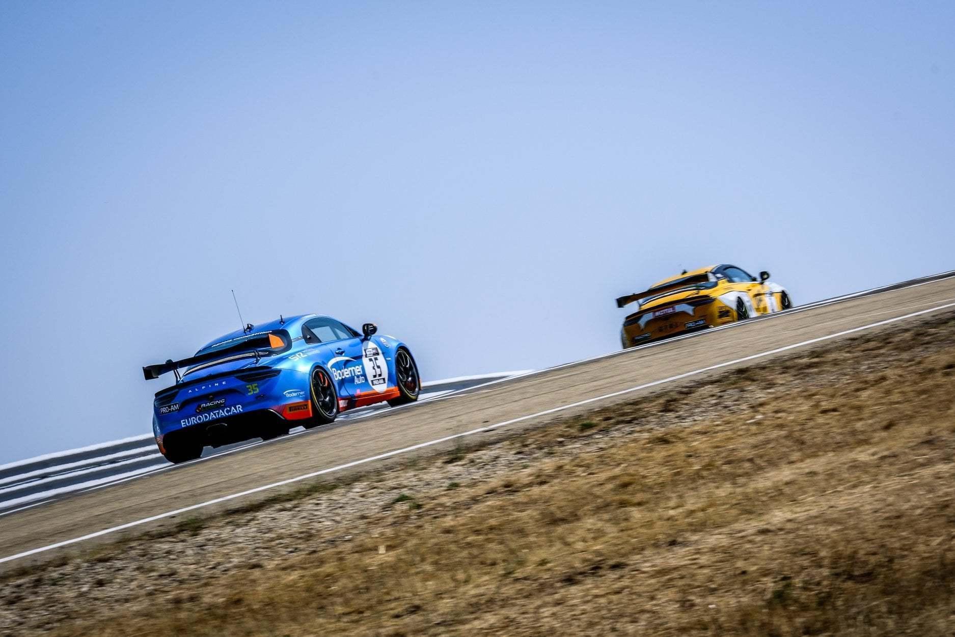 FFSA GT4 Circuit Lédenon Course 1 2019 Bodemer CMR Alpine A110 15 | FFSA GT: Rédélé Compétition s'impose à Lédenon ! (Course 1)