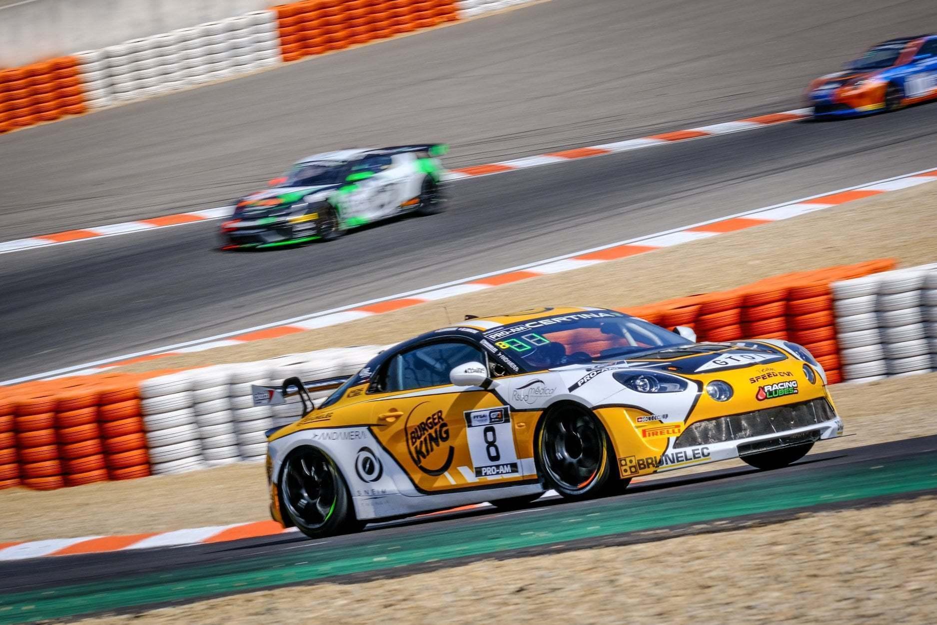 FFSA GT4 Circuit Lédenon Course 1 2019 Bodemer CMR Alpine A110 6 | FFSA GT: Rédélé Compétition s'impose à Lédenon ! (Course 1)