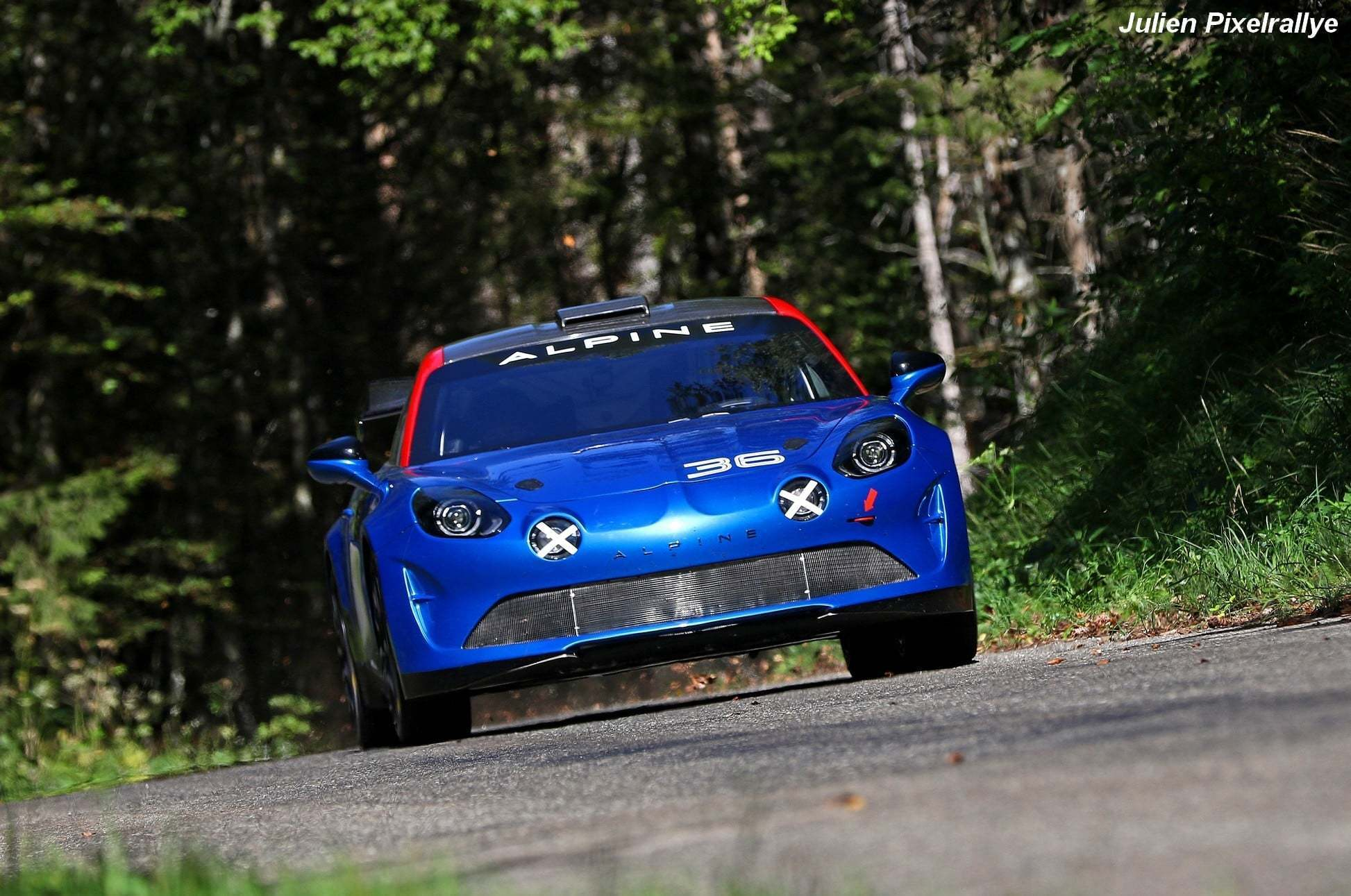 L'Alpine A110 Rally / R-GT en vidéo ! 11