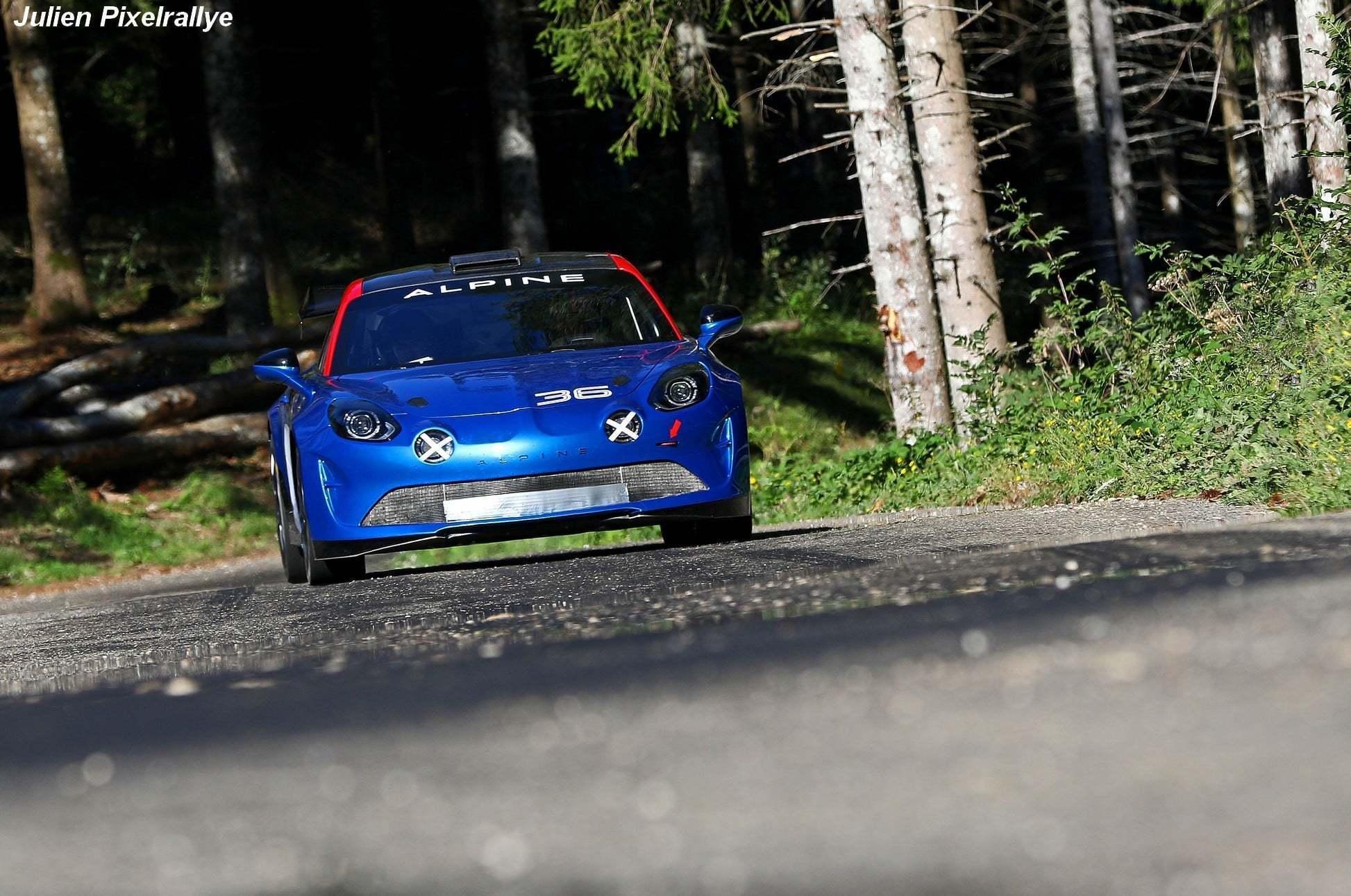 L'Alpine A110 Rally / R-GT en vidéo ! 15