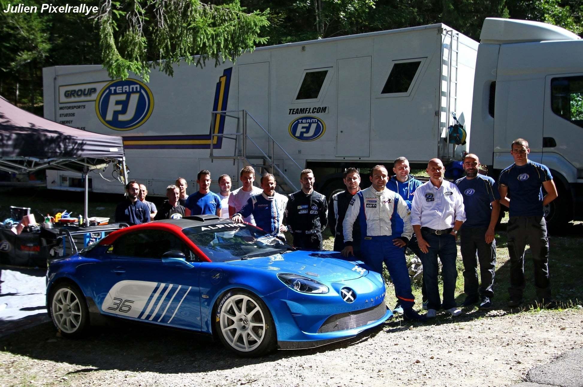L'Alpine A110 Rally / R-GT en vidéo ! 16