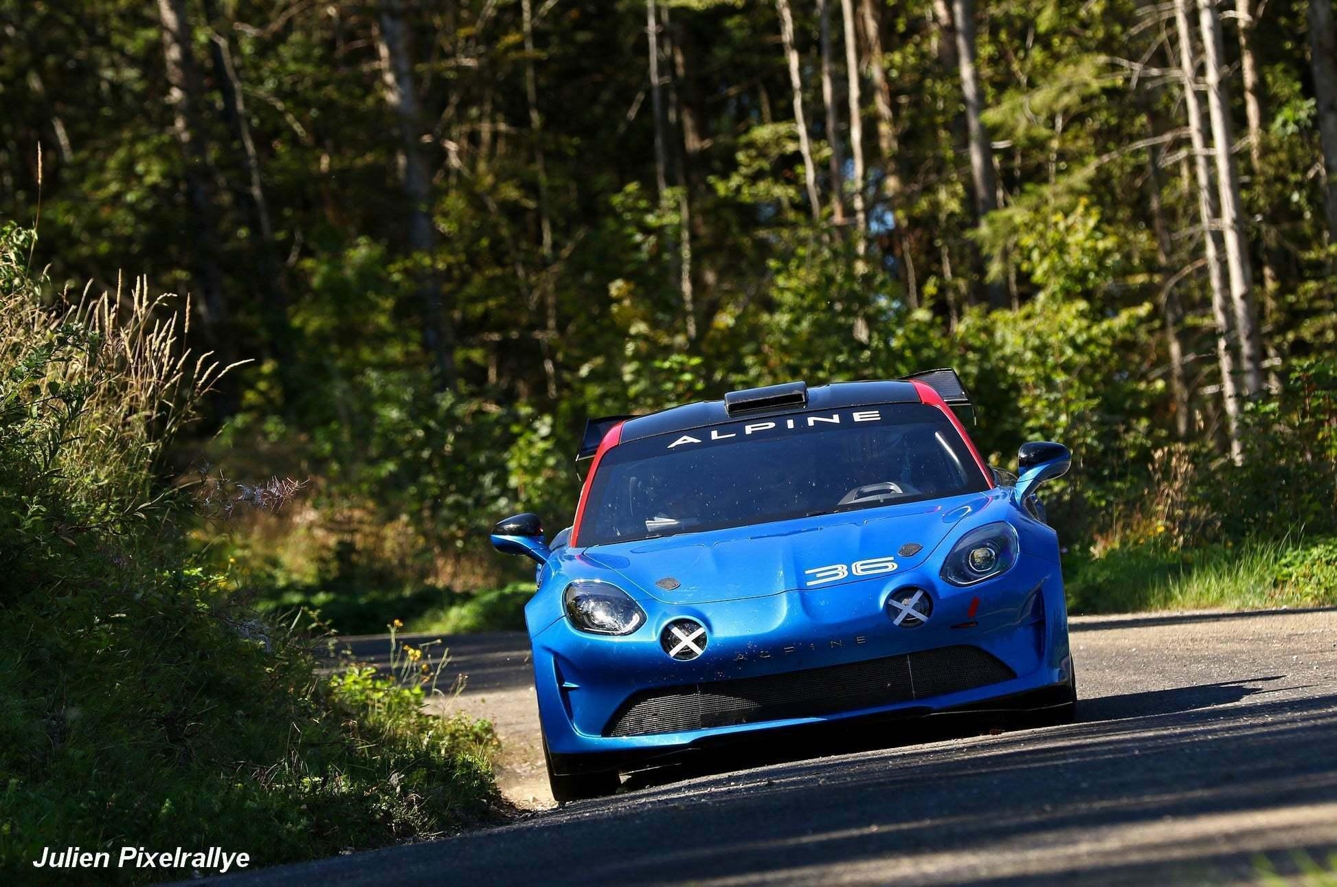 L'Alpine A110 Rally / R-GT en vidéo ! 3
