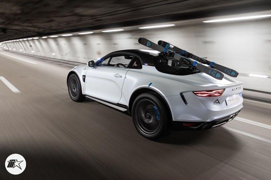 ALPINE a110 sport sx Antony Villain | Alpine révèle le concept A110 sports X au Festival Automobile International