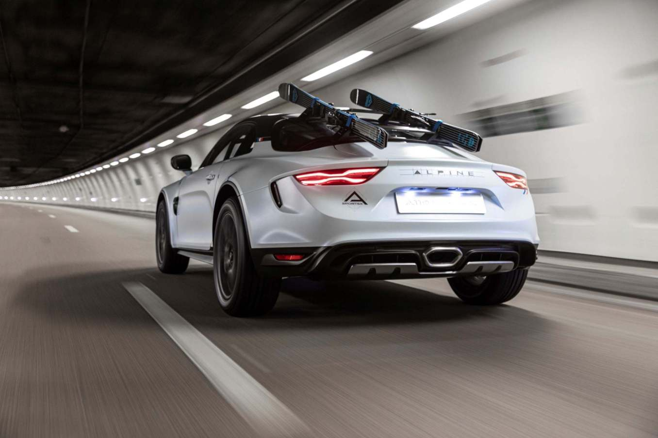 Alpine A110 SportsX Festival International Automobile 2020 6 scaled   Alpine A110 Sports X : un concept SUV Coupé ?