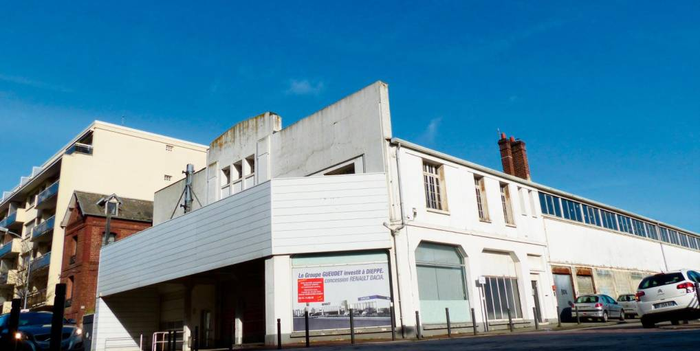 Garage Renault Pasteur Thiers Dieppe Rédélé | Dieppe: Le garage Renault de Jean Rédélé va disparaître