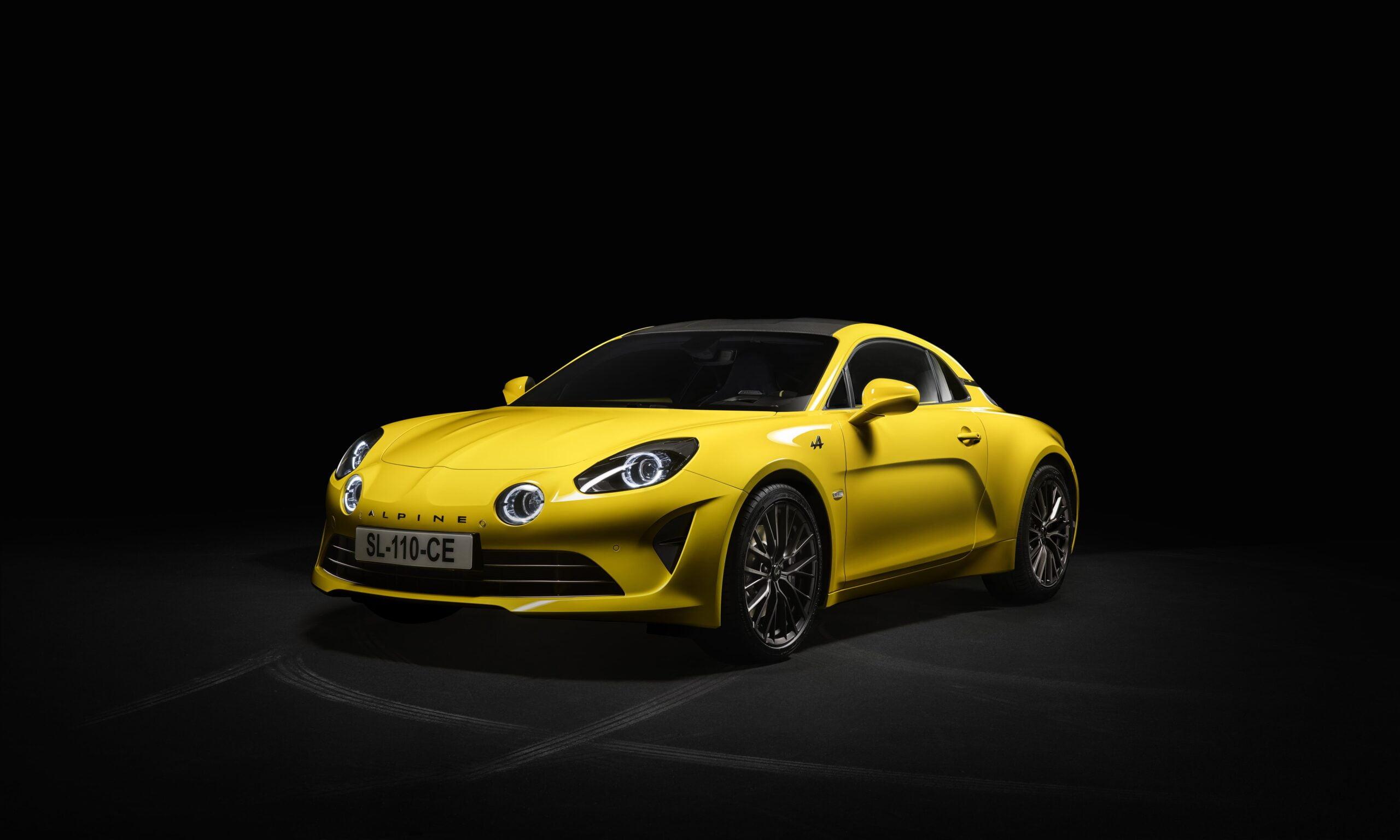 Alpine A110 Color Edition Jaune Tournesol